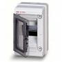 ABB EUROPA IP65 бокс 4М с прозрачной дверью серый 12744