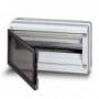 ABB EUROPA IP65 бокс 18М с прозрачной дверью серый 12753