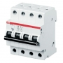 ABB Автоматич. выкл-ль 4-пол. C SH204L C6 4,5кА