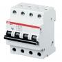 ABB Автоматич. выкл-ль 4-пол. C SH204L C10 4,5кА