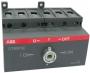 ABB Реверсивный рубильник (без ручки управления) 80A, OT80F3C