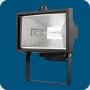ITALMAC Прожектор галоген. 500W черный IP 54