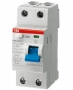 УЗО ABB Выкл. диф. тока 2мод. F202 AC-25/0,1