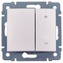 Светорегулятор клавишный  600 Вт Legrand Valena, белый 770074