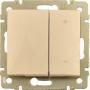 Светорегулятор клавишный  600 Вт Legrand Valena, крем 774174