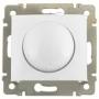 Светорегулятор поворотный 400 Вт Legrand Valena, белый 770061