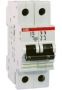 ABB Автоматич. выкл-ль 2-пол. 10А С S202 6кА (S202 C10)
