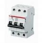 ABB Выключатель автоматический 3-пол. 6А С S203 6кА