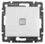 Выключатель 1 кл с подсветкой, Legrand Valena, белый 774410